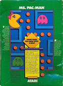 Ms. Pac-Man box back