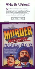 Murder on the Mississippi Activision postcard front
