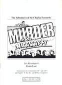 Murder on the Mississippi Adventurers Guidebook front cover