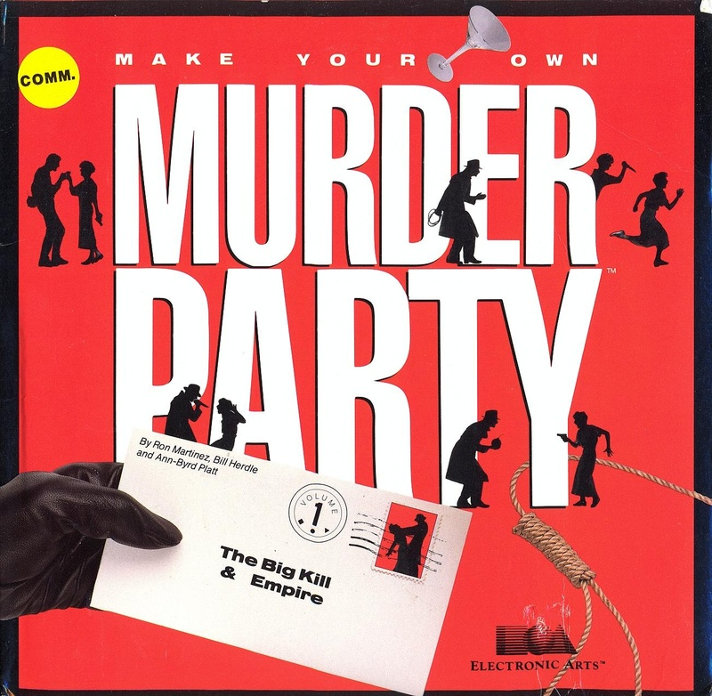 Make Your Own Murder Party box front