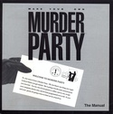 Make Your Own Murder Party manual front cover