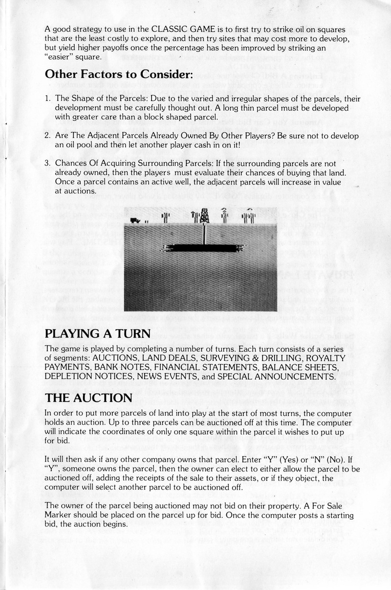 Oil Barons manual page 4