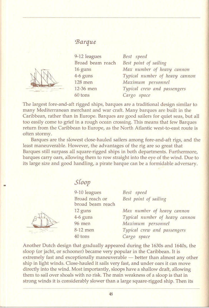 Pirates! manual page 48