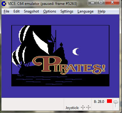 Pirates! screen shot 1