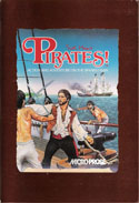 Pirates! manual front cover