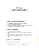 Portal loading instructions page 1