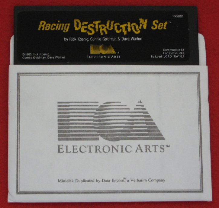 Racing Destruction Set Disk