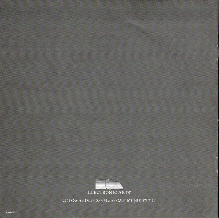 Racing Destruction Set Manual Back Cover