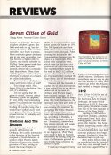 The Seven Cities of Gold COMPUTE!'s Gazette Review: January 1985 Page 1