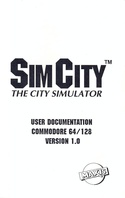 SimCity manual page 1