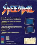 Speedball box back