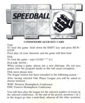 Speedball key card page 1