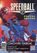 Speedball 2: Brutal Deluxe manual front cover