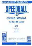 Speedball 2: Brutal Deluxe Souvenir Programme page 1
