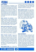 Speedball 2: Brutal Deluxe Souvenir Programme page 6