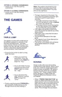 Summer Games II Manual Page 3