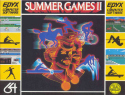 Summer Games II Box Front