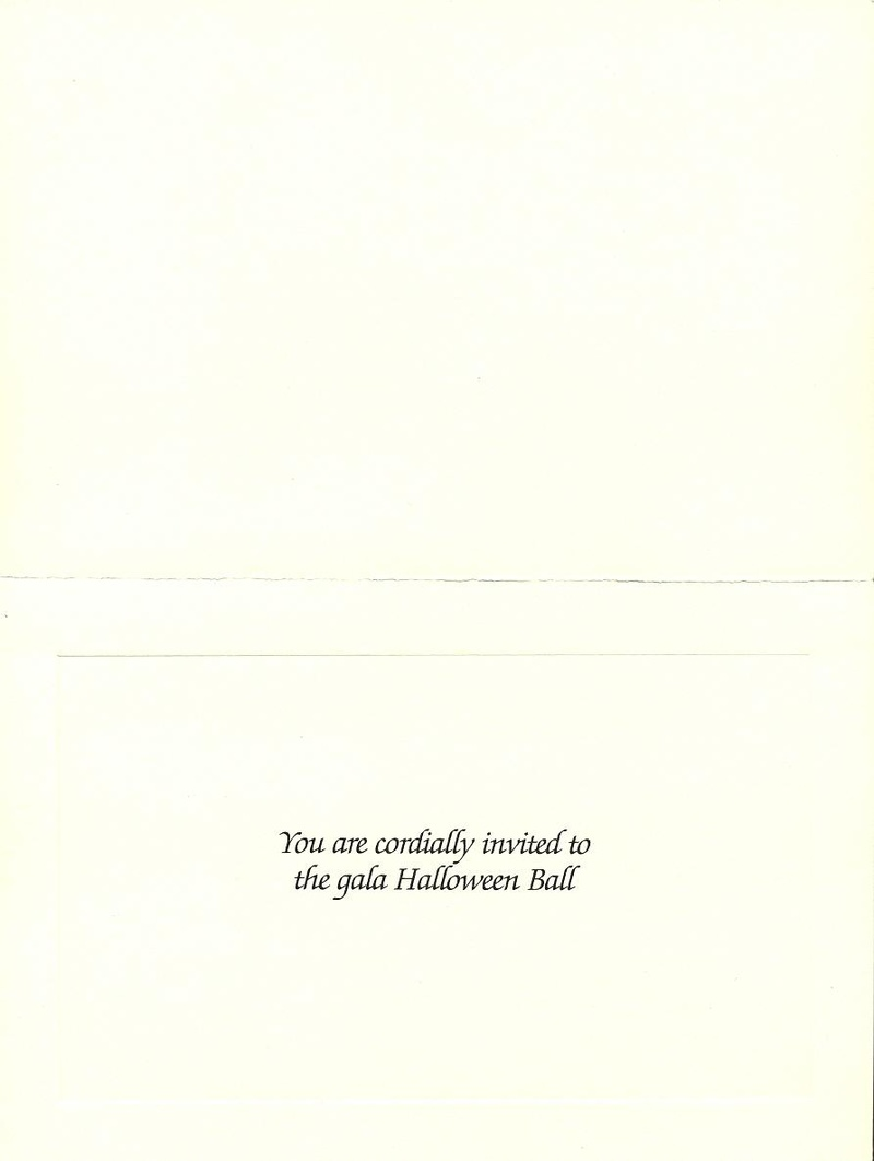 Suspect invitation card front
