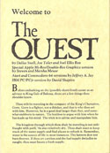 The Quest manual page 1
