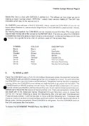 Theatre Europe manual page 2