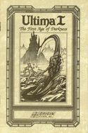 Ultima I manual front cover