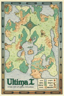 Ultima I green map