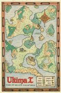 Ultima I red map