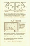 Ultima I player reference card page 5