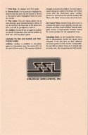 Wargame Construction Set Commodore 64 Instructions Page 2
