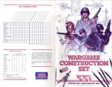 Wargame Construction Set Manual Cover