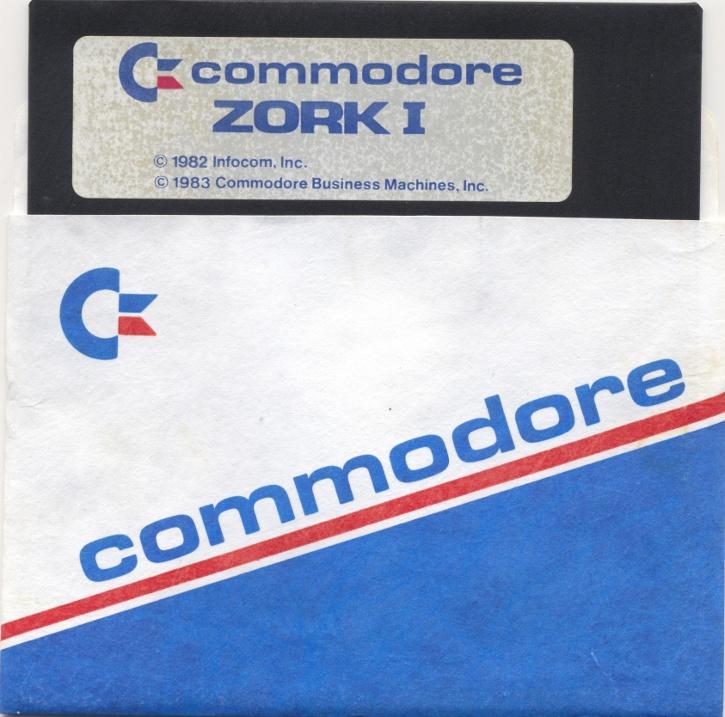 c64sets com : Zork I disk