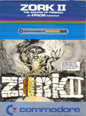 Zork II: The Wizard of Frobozz box front